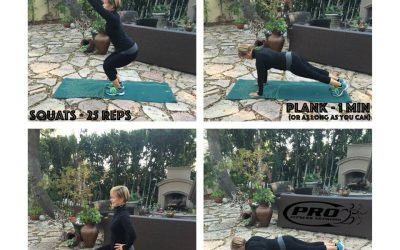 Traveling Workout Exercise, No Gym or Equipment Needed!