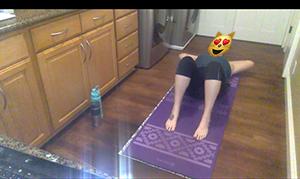 floor position camera angle